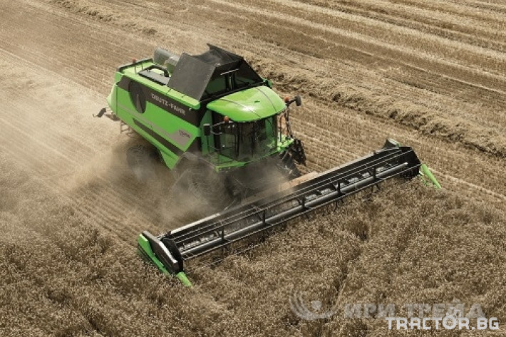 Комбайни Deutz-Fahr C_9206 TS 3 - Трактор БГ