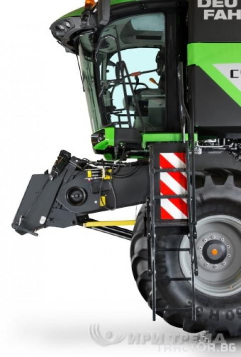Комбайни Deutz-Fahr C_9206 TS 17 - Трактор БГ