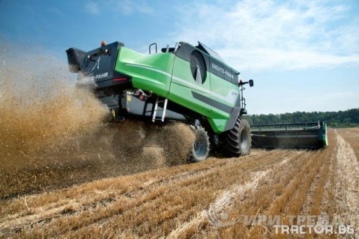 Комбайни Deutz-Fahr C_9206 TS 4 - Трактор БГ
